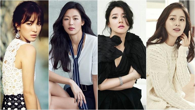อันดับดารานักแสดงหญิงซีรีส์เกาหลีที่ค่าตัวแพงที่สุด